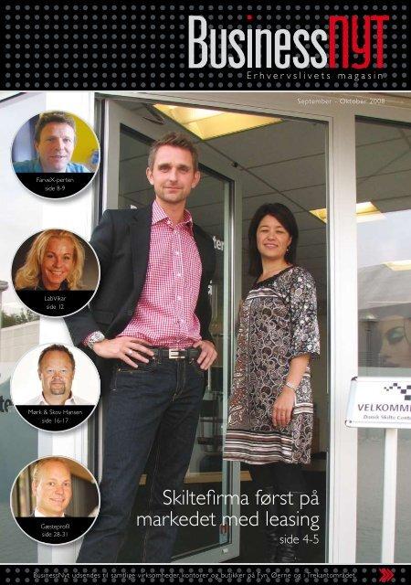 Skiltefirma først på markedet med leasing - BusinessNyt