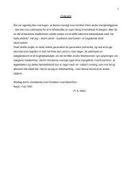 P.A.Klein's slægts-hæfte renskrevet (V1). - Familien Elkiær