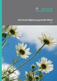 Kommunal udligning og generelle tilskud - Økonomi- og ...