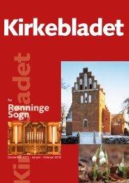 Kirkeblad nr. 1, 2012 - Rønninge Kirke
