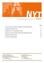 Nyt fra Ankestyrelsen nr. 2 februar 2011