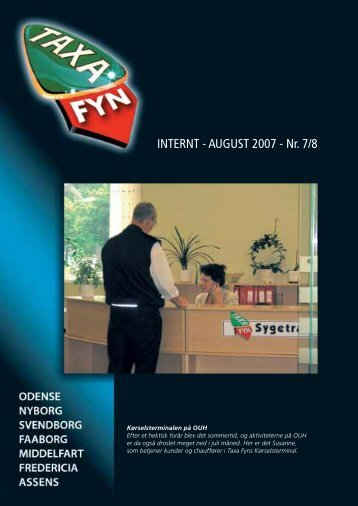INTERNT - AUGUST 2007 - Nr. 7/8 - Taxa Fyn