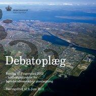 Forslag til Fingerplan 2012 landsplandirektiv for ... - Naturstyrelsen