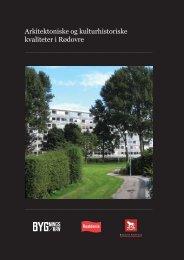 Arkitektoniske og kulturhistoriske kvaliteter i Rødovre