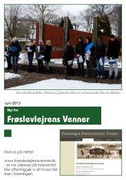 apr 2013 som pdf - Foreningen Frøslevlejrens Venner