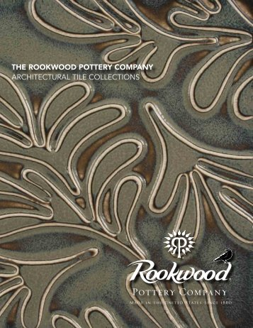tiles for installation - Rookwood Pottery