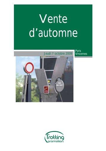 Catalogue complet (PDF) - Arqana Trot