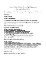 Referat af ordinær Generalforsamling i Sydgrænsen Mandag den 8 ...