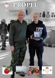 Ordinær generalforsamling 2013 - Flyvevåbnets Soldaterforening