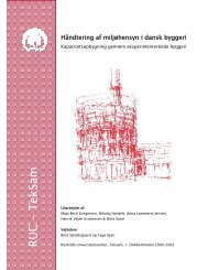 Håndtering af miljøhensyn i dansk byggeri.pdf - Klimaændringer og ...