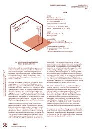 Download pressemeddelelsen som pdf her. - Thorvaldsens Museum