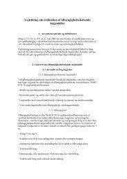 Udkast til Vejledning om ordination af ... - Lægevagten