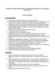 Omsorgsplanen - Skoleporten Mejrup Skole