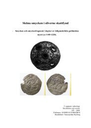 Sköna smycken i silverne skattfynd - Institutionen för arkeologi och ...