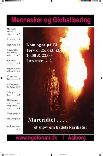 Download en Pdf-udgave af NGO Forums avis - Best og Biernth