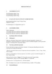 PREPARATOMTALE 1. LEGEMIDLETS NAVN Truxal ... - Lundbeck