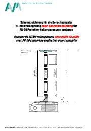 Berechnung der Länge - AVM-Technik GmbH