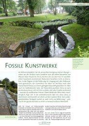 FOSSILE KUNSTWERKE - anroechterstonegroup