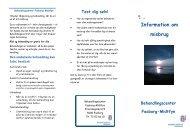 Informationspjece om misbrug - Faaborg-Midtfyn kommune