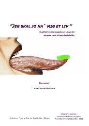 JEG SKAL JO HA ´ MIG ET LIV - ecomm.dk