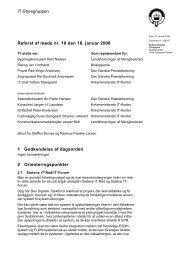 Mødeplan og referater fra afholdte møder - Kirkenettet