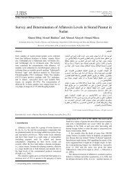 Survey and Determination of Aflatoxin Levels in Stored Peanut in ...