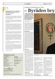 Les heile intervjuet i Åsane Tidende - Senterpartiet
