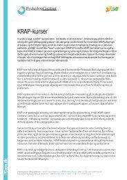 KRAP-kurser - Psykologcentret i Viborg og Skive