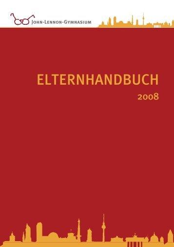 ELTERNHANDBUCH - John-Lennon-Gymnasium