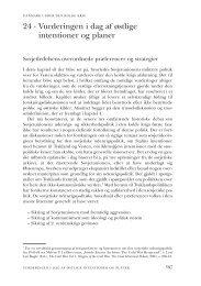 Kapitel 24. Vurderingen i dag af østlige intentioner og planer - DIIS