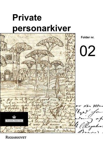 Private personarkiver