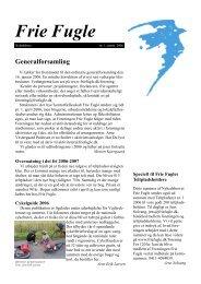 Generalforsamling - Idéværkstedet De Frie Fugle