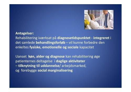 Microsoft PowerPoint - Lis Adamsen - Et strategisk forskningsinitiativ ...