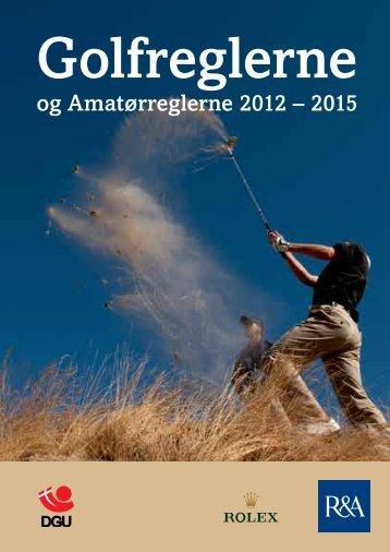 Rules of Golf Golfreglerne - Golf.dk