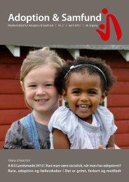 race, adoption og fællesskaber - Adoption og Samfund