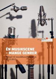 ÉN MUSIKSCENE – MANGE GENRER - Kunst.dk
