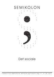 Semikolon 20 - Det sociale - EgernInc