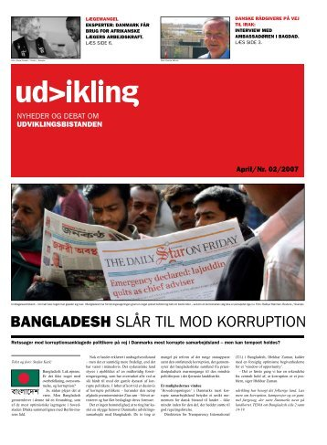 BANGLADESH SLår tIL mod korruPtIoN