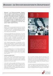 Økonomi- og Erhvervsministeriets Departement - Software Innovation