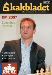 DM 2007 - Dansk Skak Union