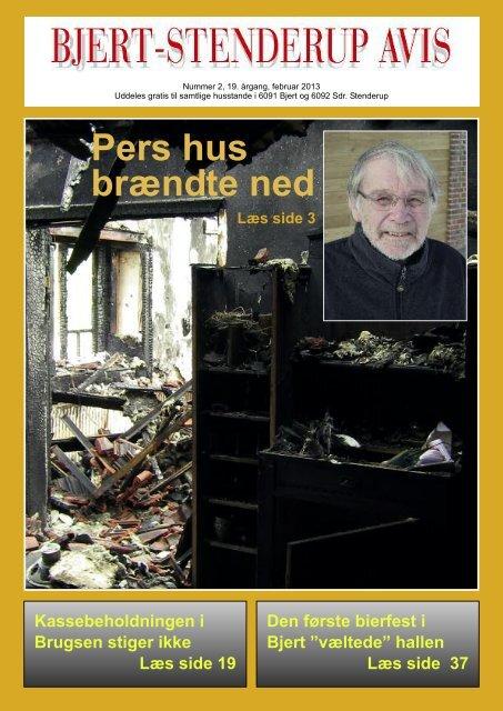Pers hus brændte ned - Sdr. Stenderup