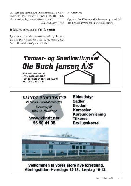 KØRESPORTEN - Karetmager.dk