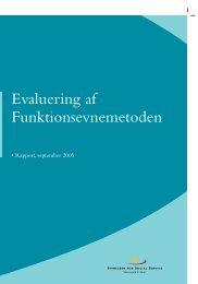 Evaluering af Funktionsevnemetoden - Social