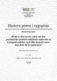 Ekstern prøve i sygepleje - Region Midtjylland