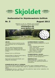 Nr. 5 August 2012 - Proark golf
