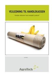 VEJLEDNING TIL HANDLEKASSEN - AgroTech