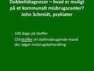 John Schmidt, psykiater - Kabs