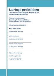 [pdf] Den studerendes læring MLP 2012