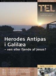 Herodes Antipas i Galilæa - Selskab for Bibelsk Arkæologi