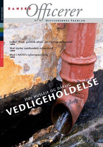 vedligeholdelse - Hovedorganisationen af Officerer i Danmark